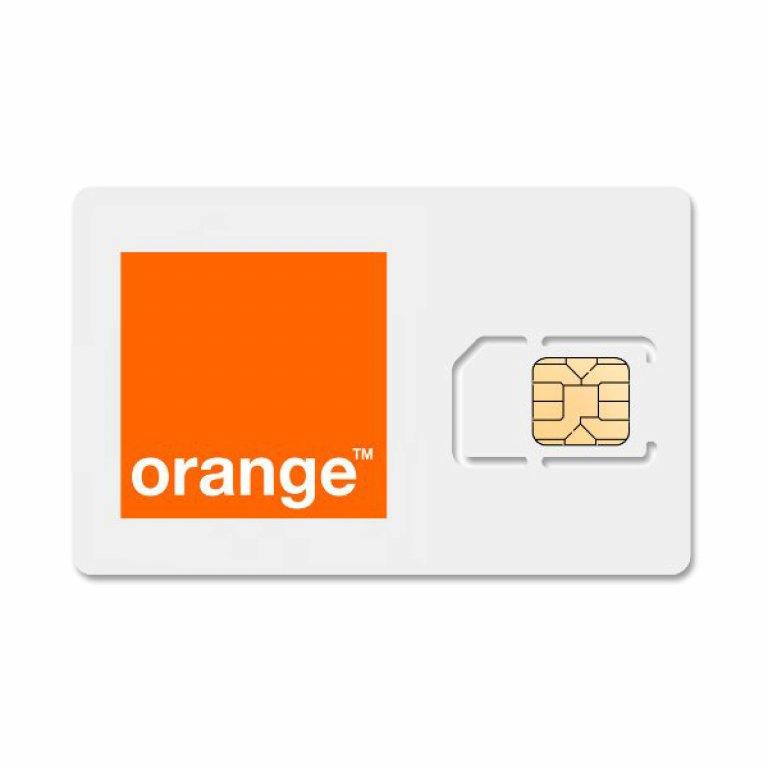 Cartela Orange 5 euro